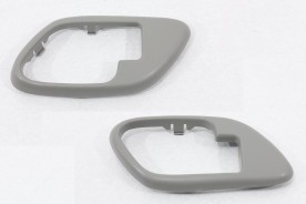 Kit Moldura da Maçaneta de Porta Interna da Silverado Grand Blazer Cinza  ( Idêntico Original) Direita e Esquerda