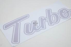 Emblema 'Turbo' da F-1000 93/... Prata