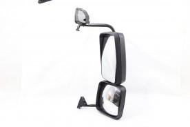 Espelho Retrovisor C/ Braço Ford Cargo Lado Esquerdo C/Aux Conv 2013.... Metagal Medio Pesado Extra Pesado