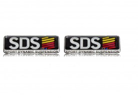 Kit Emblema 'Sds' L200 Triton (Resinado) 2 Peças