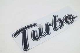 Emblema 'Turbo' da F-1000 93/... Preto