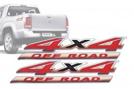 Emblema '4x4 Off Road' da Amarok
