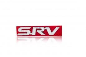 Emblema 'SRV' da Hilux/ SW4 05/15