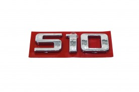 Emblema 'S10' 12/... Cromado