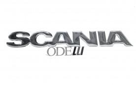 Emblema Scania 111 Resinado (33 Cm)