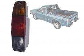 Lanterna Traseira F-1000  1972 / 1992 Pampa 1989 / 1993 Imola Plastica Fume Lado Esquerdo