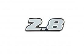 Emblema '2.8' da S10 01/...