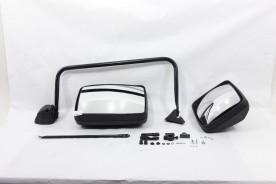 Espelho Retrovisor C/ Braço Ford Cargo Lado Esquerdo C/Aux Conv 2013.... Bepo Medio Pesado Extra Pesado