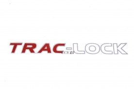 EMBLEMA ''TRAC-LOCK'' S10 BRANCO (SEM RESINA) 2006 / 2011