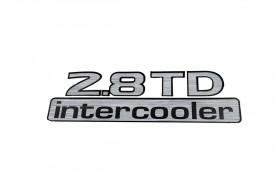 Emblema '2.8 Td Intercooler' da Frontier 03/07