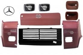 Kit Frente  Completa Mb 608 / 708 1973 / 1989