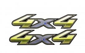 Emblema '4x4' da Hilux Flex 13/15