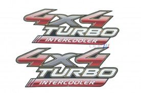 Emblema '4x4 Turbo Intercooler' da Hilux 09/...