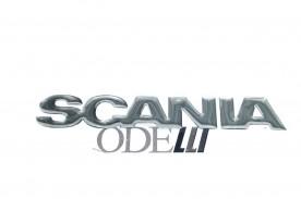 Emblema Scania 111 Resinado (Pequeno)