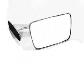 Espelho Retrovisor Corcel 1 Belina Galaxie Landau Maverick (Aluminio Polido)