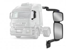Espelho Retrovisor Iveco Tector Desembaçador Completo Direit
