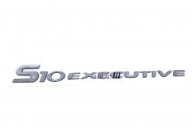 EMBLEMA 'S10 EXECUTIVE' 03/... RESINADO PRATA