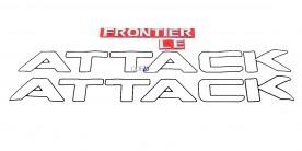 Kit Emblema Frontier Attack Preto Le 2008 / 2015