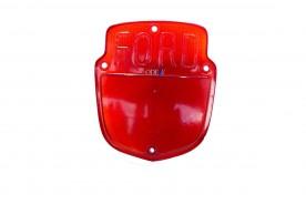 Lente da Lanterna Traseira da F-350 F-4000 .../87 (C/ Logo Ford) Padrão Original
