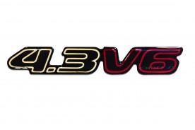 EMBLEMA '4.3 V6' S10 BLAZER OURO