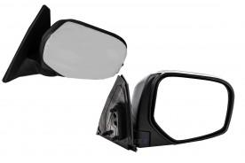 Espelho Retrovizor Manual da L200 Triton 08/... Cromado Lado Direito