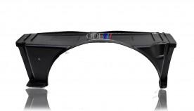 Defletor Radiador S10 Blazer 00/05 Motor Mwm 2.8 Sup (Fibra)